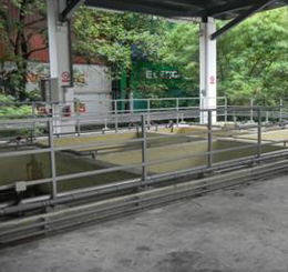 Waste water treating services